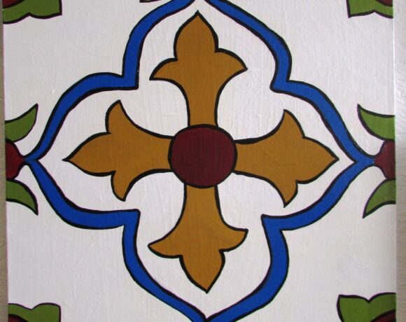 Deanna Clausen Tile Painting