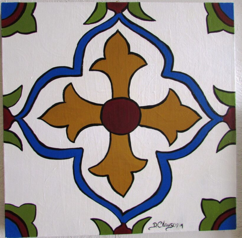 Deanna Clausen Tile Painting