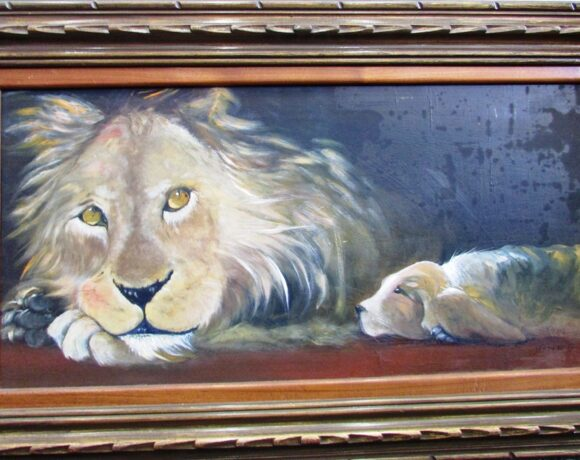 Lion & Dog