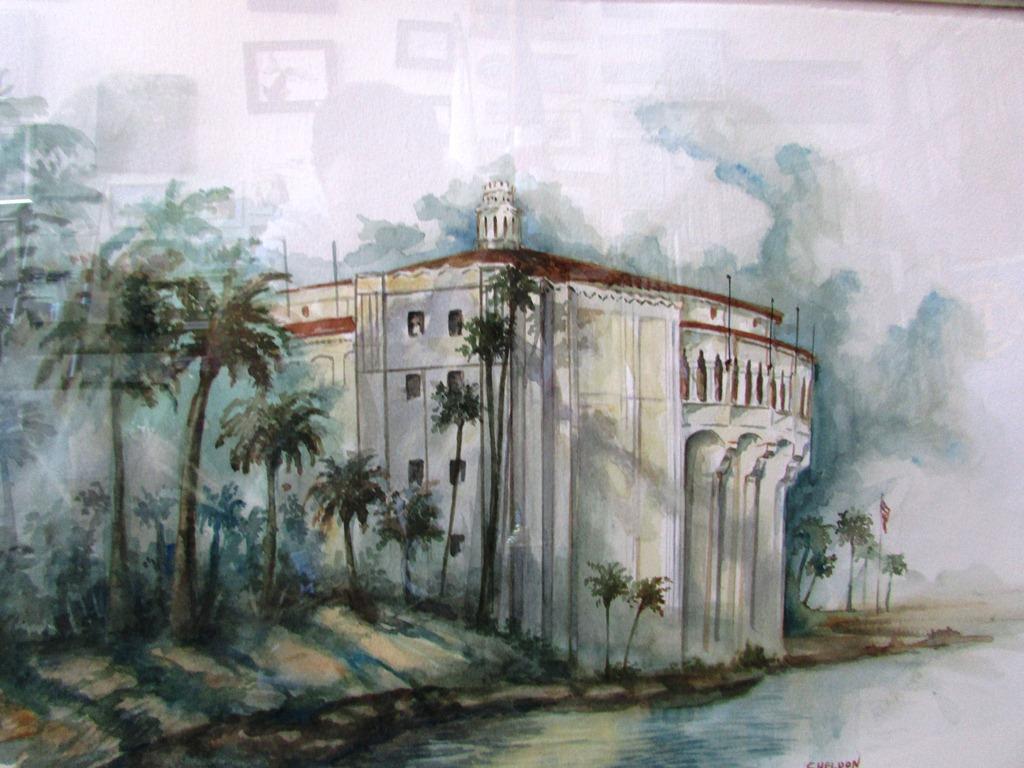 Sheldon Borenstein watercolor