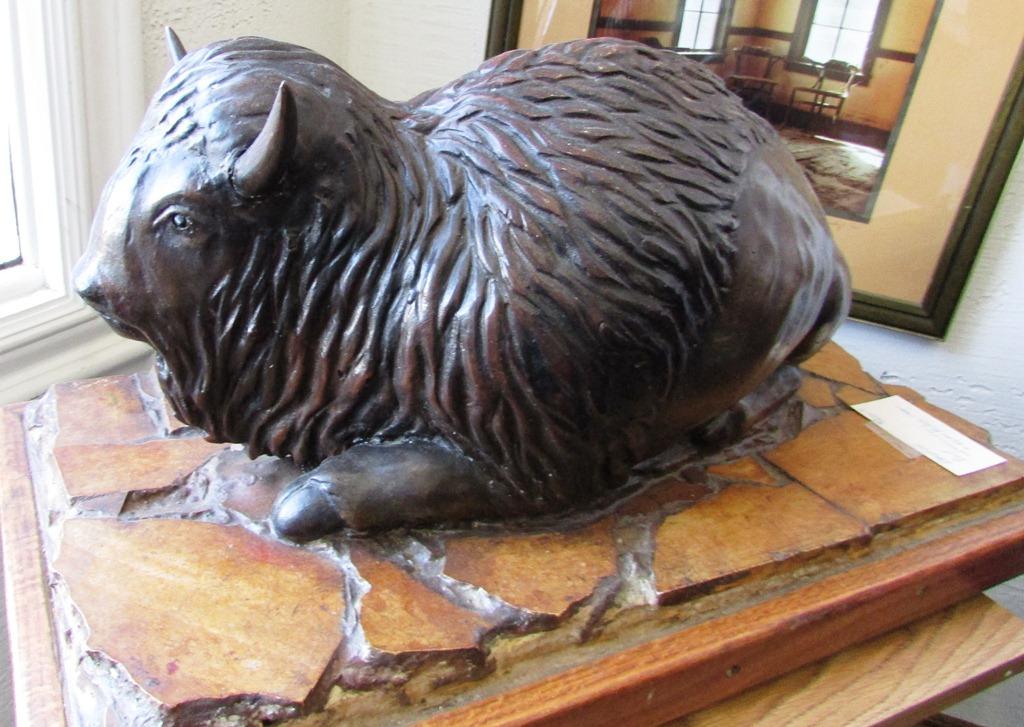 Will Richards Bronze Buffalo